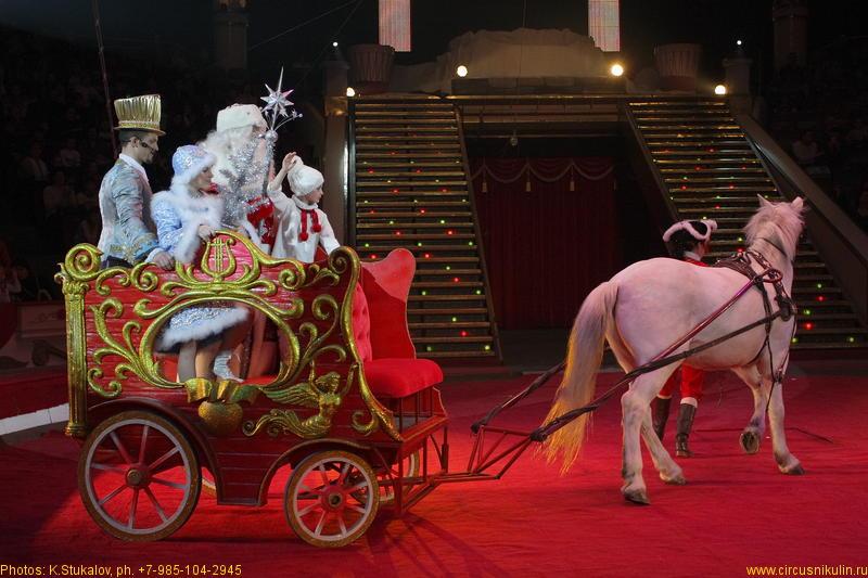 Новогодние подарки в цирке никулина